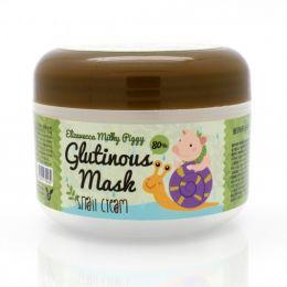 Elizavecca Крем-маска с муцином улитки Milky Piggy Glutinous Mask 80% Snail Cream