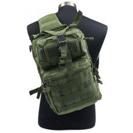 Рюкзак на 1 лямке Military Tactical Travel Hiking Riding Bike Cross Body Olive Green