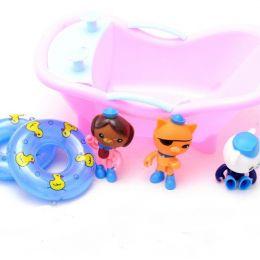 """Набір іграшок """"Octonauts"""" з ванною в кор. 25 * 14 * 12 см. / 96 /"""