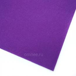 Фетр листовой жёсткий 1,2 мм, 20х30 см, цв.: 620 фиолетовый