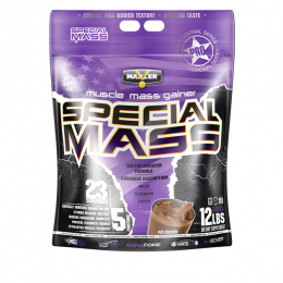 MAXLER Special mass gainer, дойпак 5,45кг. Rich chocolate