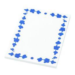 АНИЛИНАРЕ Блокнот для записей, белый, синий 17 х 13 см