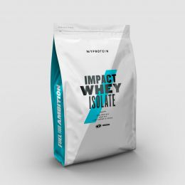 MyProtein, Impact whey isolate дойпак 1кг. Salted caramel