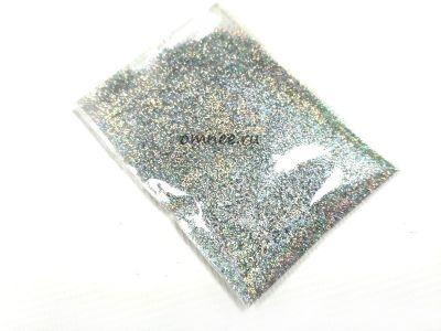 Сухой глиттер, 10 гр., цв.: серебро
