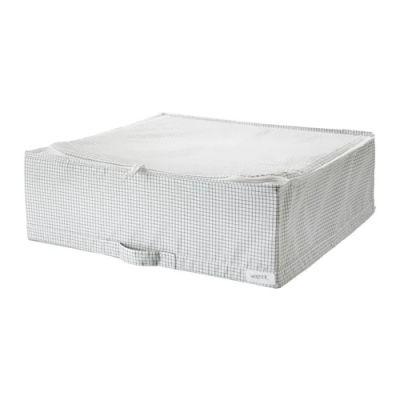СТУК Сумка для хранения, белый/серый, 55 х 51 х 18 см