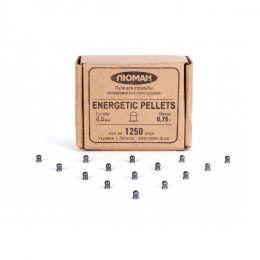 Пули Люман Energetic pellets 4,5мм 0,75гр (1250шт)