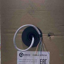 QTECH-QPP-U/UTP-4PC5e-PVC-305 Витая пара. Медь.