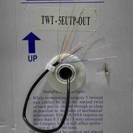 TWT-5EUTP-OUT. 4x2x0.48. Ø 0.48мм. Витая пара. Медь.