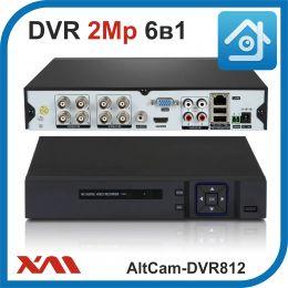 AltCam DVR812. Видеорегистратор (AHD, XVI, CVI, TVI, CVBS, IP) 8В 4А.
