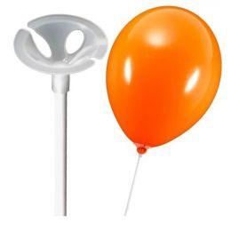 Воздушный шарик на палочке.