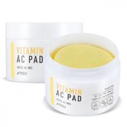 """A""""PIEU Пилинг-диски с AHA и BHA кислотами и витаминами Vitamin AC Pad"""