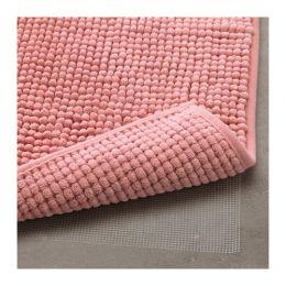ТОФТБУ Коврик для ванной, розовый 50 х 80 см