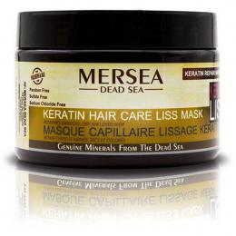 MERSEA Маска с Кератином восстанавливающая для поврежденных сухих и окрашенных волос Keratin hair care liss mask