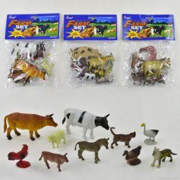Животные H641 (192шт/2)домашние,в пакете 20*15см