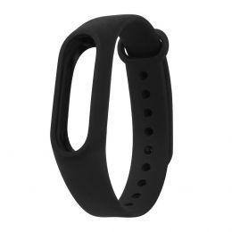 """Ремешок для """"Xiaomi Mi Band 2"""" силиконовый (black)"""
