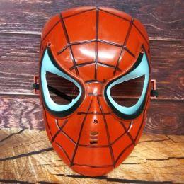 Маска пластиковая Человек паук со светом