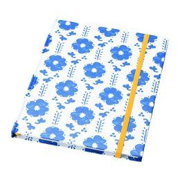 АНИЛИНАРЕ Книжка для записей, белый, синий, 20 х 16 см