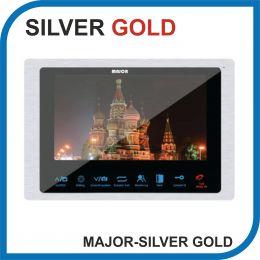 MAJOR COMFORT SILVER PRO 2. Видеодомофон 7 дюймов. Micro SD 64Gb. 2 панели - 2 камеры.