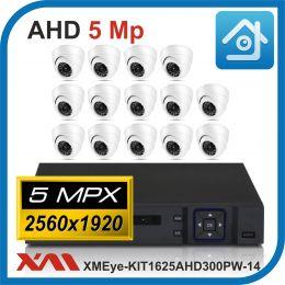 Комплект видеонаблюдения на 14 камер XMEye-KIT1625AHD300PW-14.