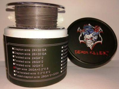 намотка Daemon Killer Tiger wire 26GA+0.2*0.8