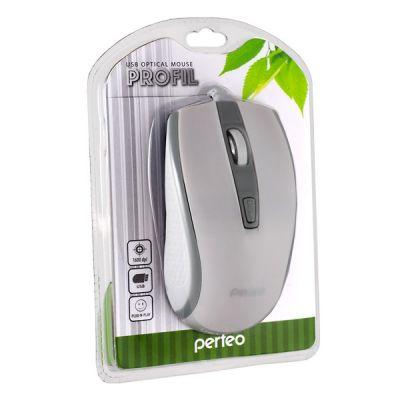 Мышка Perfeo PF-383-OP-W/GR