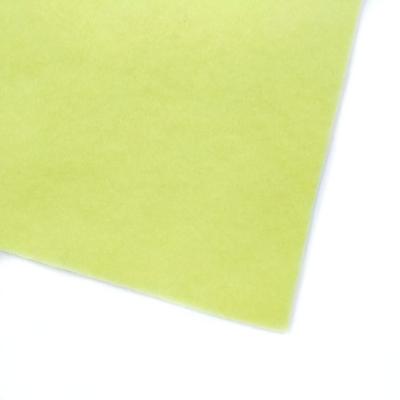 Фетр листовой мягкий 1,2 мм, 20х30 см, цв.: св. жёлтый 036