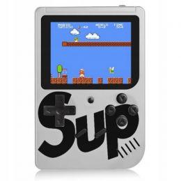 Игровая приставка Sup 400 (3,0ʺ, цветной дисплей, 8 бит, AV-кабель), белая