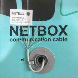 UTP-NET-UU004-5E-PVC-GY. NETBOX. Витая пара. Медь.