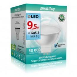 Светодиодная (LED) Лампа Smartbuy-Gu5,3-9,5W/4000 (SBL-GU5_3-9_5-40K) (арт. 695817)