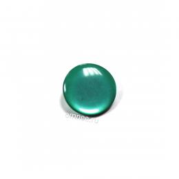 Пуговица ''карамель'' на ножке 15 мм, цв.: зелёный, шт.