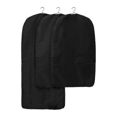 СКУББ Чехол для одежды, черный, 1 шт