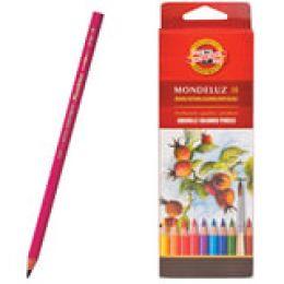 """Набор акварельных цветных карандашей 18цв. """"Mondeluz"""""""
