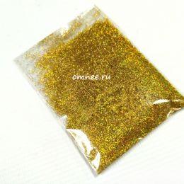 Сухой глиттер, 10 гр., цв.: золото