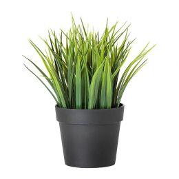 ФЕЙКА Искусственное растение в горшке, д/дома/улицы трава