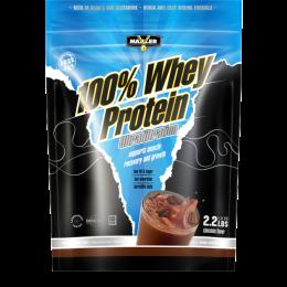 MAXLER 100% Whey protein, дойпак 1кг. Chocolate