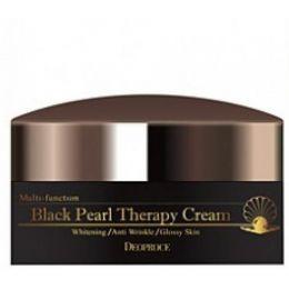 Крем с черным жемчугом антивозрастной Deoproce Black Pearl Teraphy Cream 100 мл.