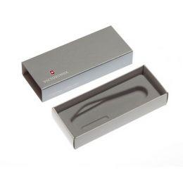 Коробка для ножей VICTORINOX 91 мм толщиной 3-4 уровня, картонная, серебристая