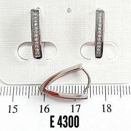 Сережки E/S/E4300