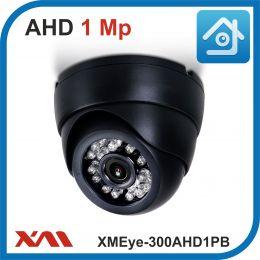 XMEye-300AHD1PB-2,8.(Пластик/Черная). 720P. 1Mpx. Камера видеонаблюдения.
