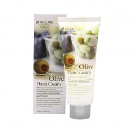 3W CLINIC Увлажняющий крем для рук с экстрактом оливы Moisturizing Olive Hand Cream