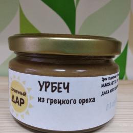 """Урбеч Грецкий Орех """"Солнечный дар"""" 225гр"""