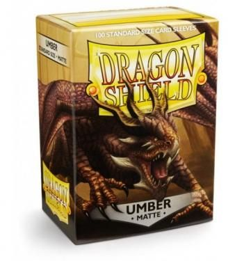 Протекторы Dragon Shield матовые Umber (100 шт.)