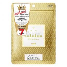 LuLuLun маска для лица антивозрастастная увлажняющая и выравнивающая тон Face Mask Precious White 7 125г