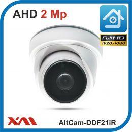 AltCam DDF21IR.(Пластик/Белая). 1080P. 2Mpx. Камера видеонаблюдения.
