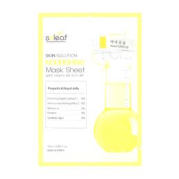 SOLEAF Питательная маска для лица c маточным молочком