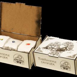 Пастила в подарочной коробке 300г (клубника, черника, груша)