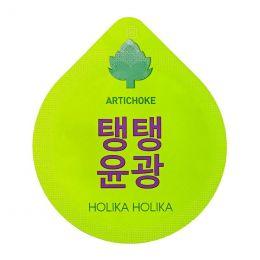 Holika Holika Super food capsule pack artichoke Антивозрастная разглаживающая маска с экстрактом артишока