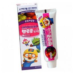 "PORORO Children""s toothpaste mixed fruit Детская зубная паста - Фруктовый микс"
