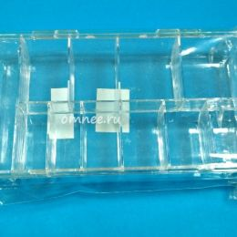 Контейнер пластиковый 18, х11х3 см