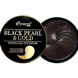 [ESTHETIC HOUSE] Гидрогел. патчи д/ глаз ЧЕРНЫЙ ЖЕМЧУГ/ЗОЛОТО BLACK PEARL&GOLD HYDROGEL EYEPATCH